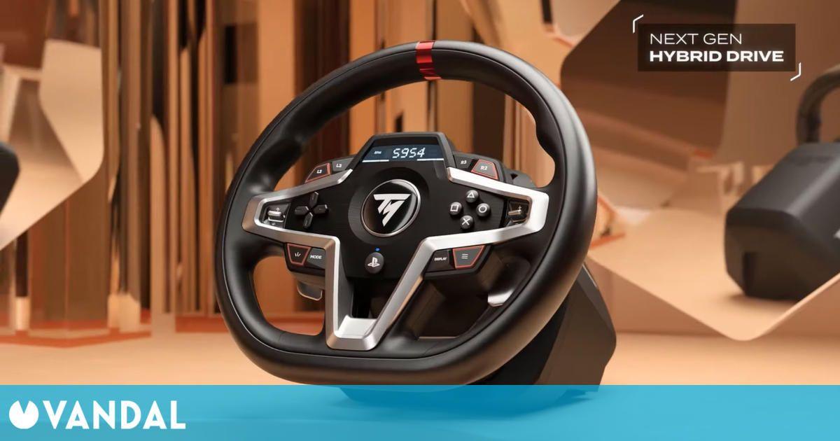 Así es T248, el nuevo volante de carreras de Thrustmaster para PS5, PS4 y PC