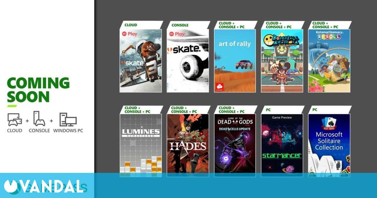 Xbox Game Pass recibe Hades, Skate 3, Art of Rally y otros siete juegos este mes