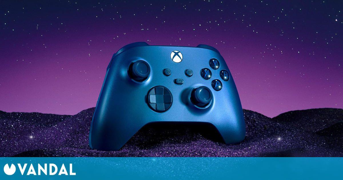 Xbox anuncia Aqua Shift, un nuevo modelo de su mando de nueva generación