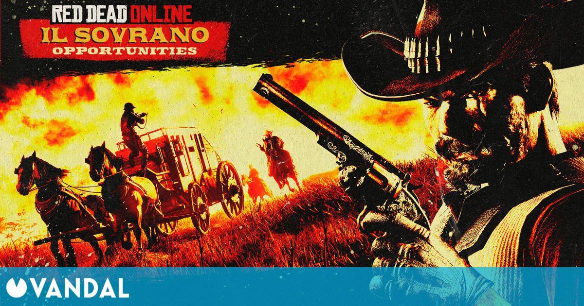 Red Dead Online: Llega una nueva Joya del Oeste, nuevos contratos, descuentos y más