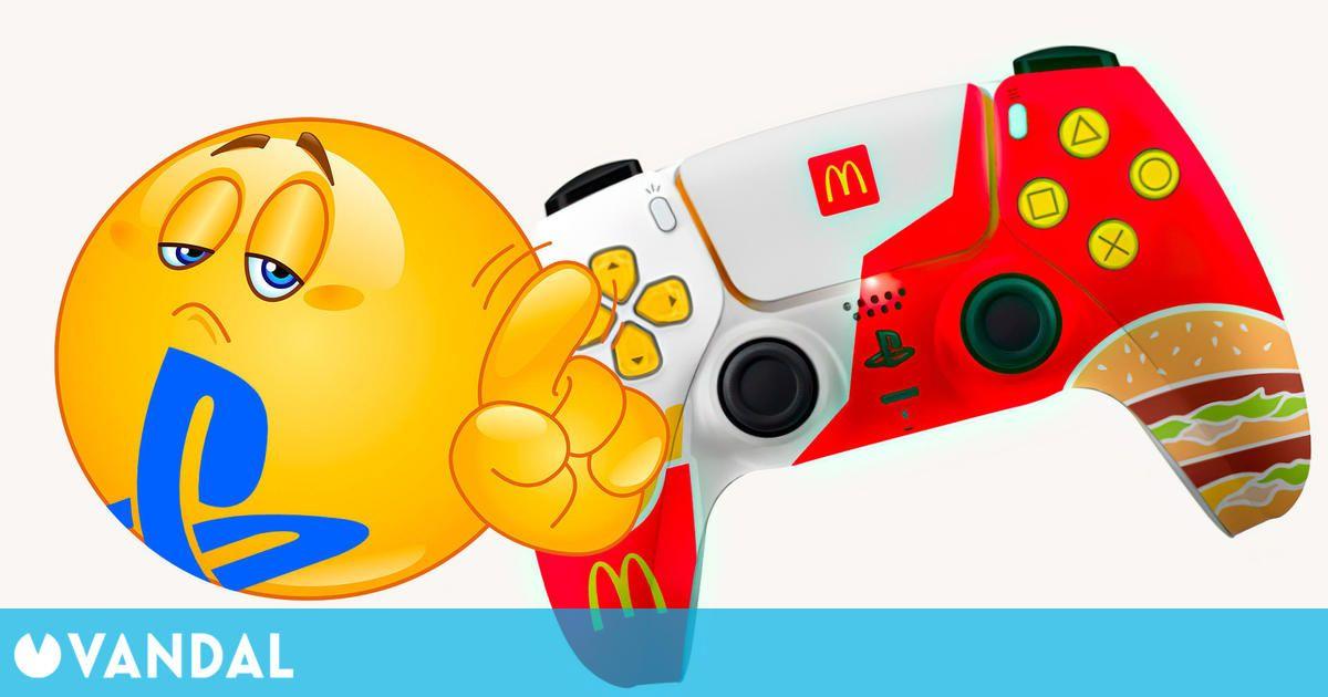 Sony frena una campaña de McDonalds que regalaba mandos DualSense con decoración especial