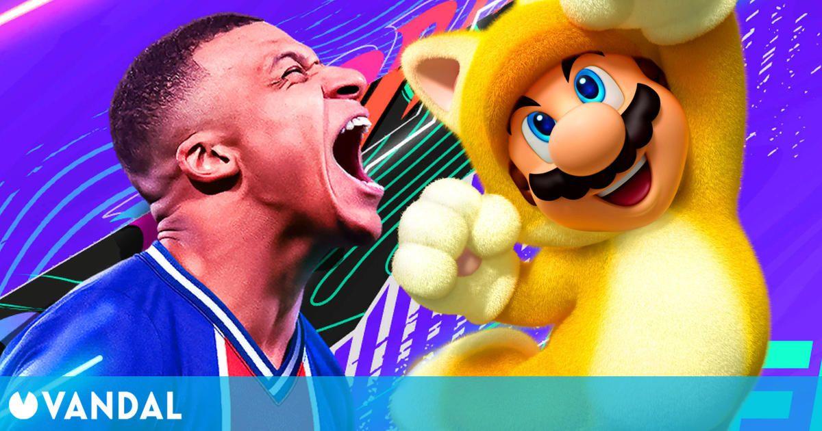 FIFA 21 y Super Mario 3D World son los más vendidos de Europa en lo que llevamos de 2021
