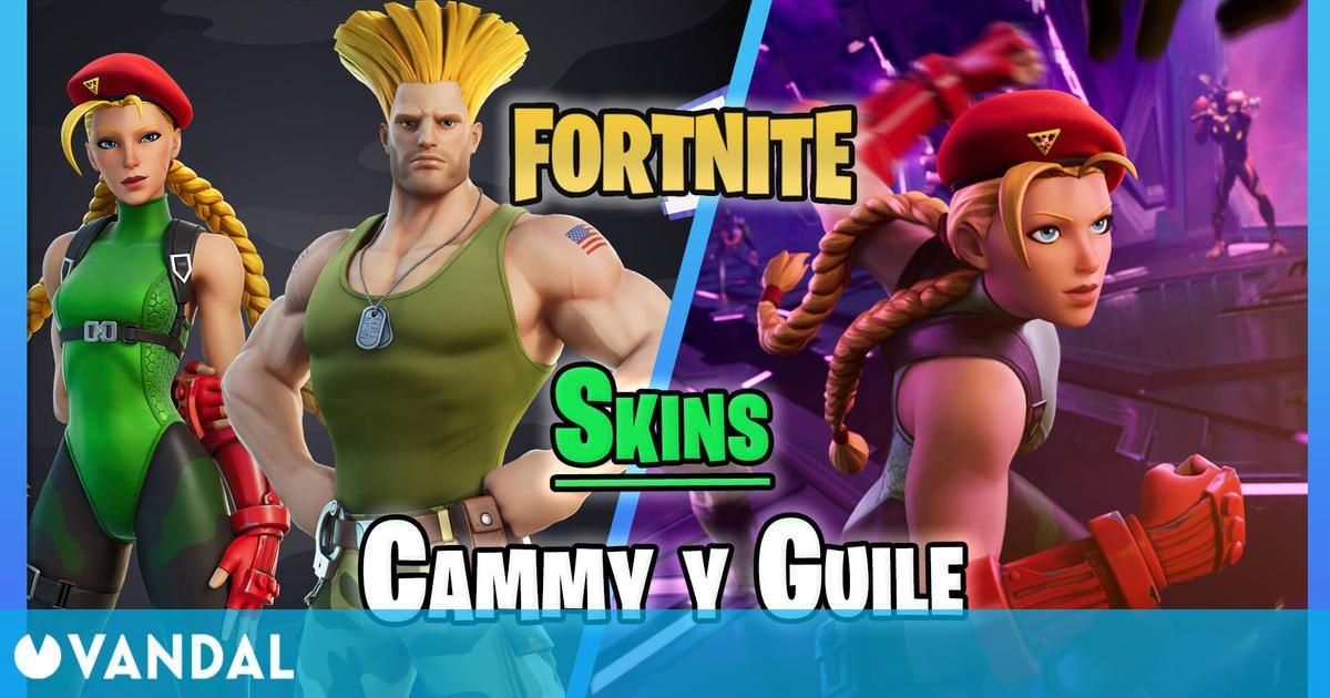 Fortnite anuncia las skins de Cammy y Guile de Street Fighter – ¿Cómo conseguirlos?