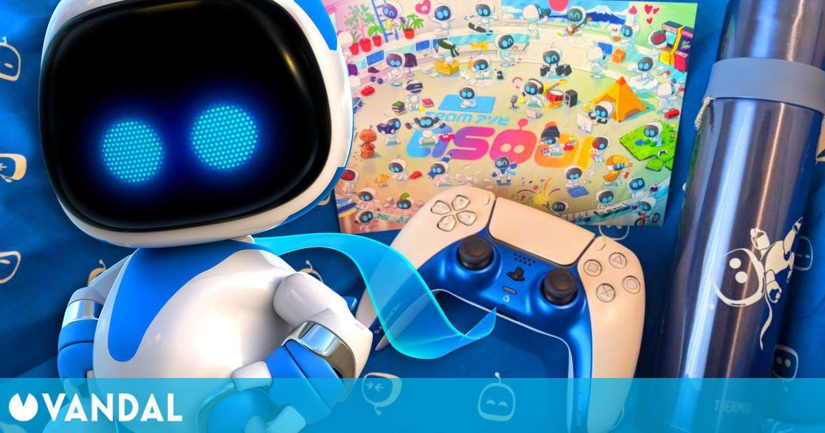 Team Asobi regala un DualSense de PS5 exclusivo y personalizado a sus nuevos trabajadores