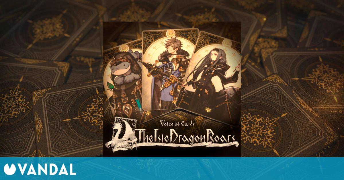 Voice of Cards: The Isle Dragon Roars, un juego no anunciado de Square Enix, aparece en PSN