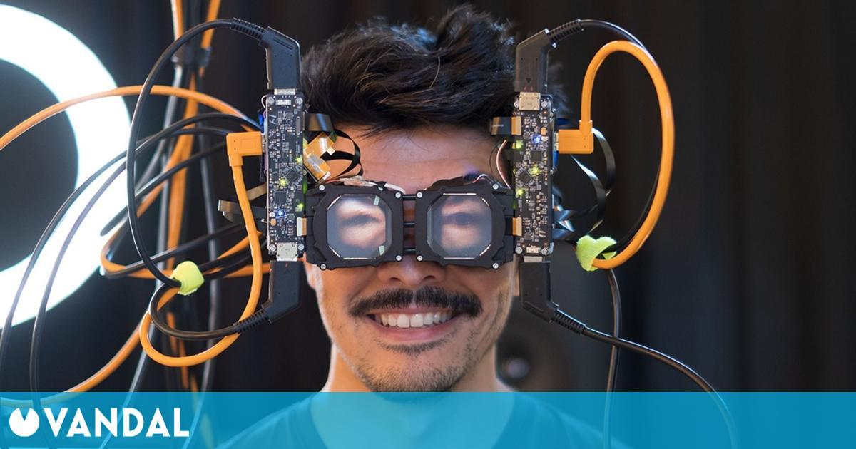 Facebook trabaja en unas extrañas gafas VR que proyectan los ojos de quienes las llevan