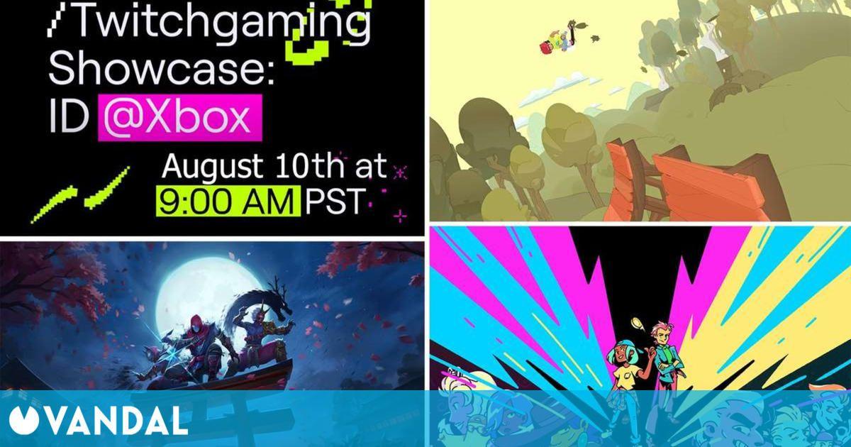 Xbox y Twitch celebrarán un evento con anuncios y demos de juegos indies el 10 de agosto