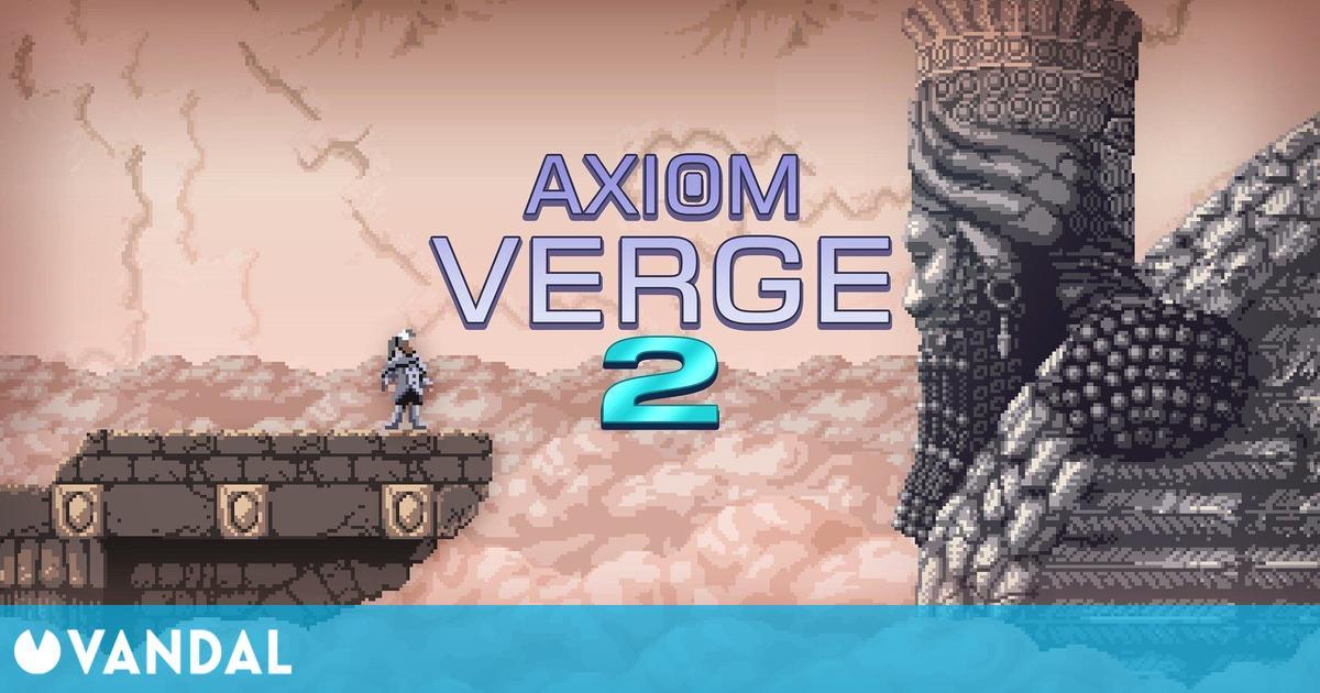 Axiom Verge 2, el metroidvania de Thomas Happ, muestra gameplay en vídeo