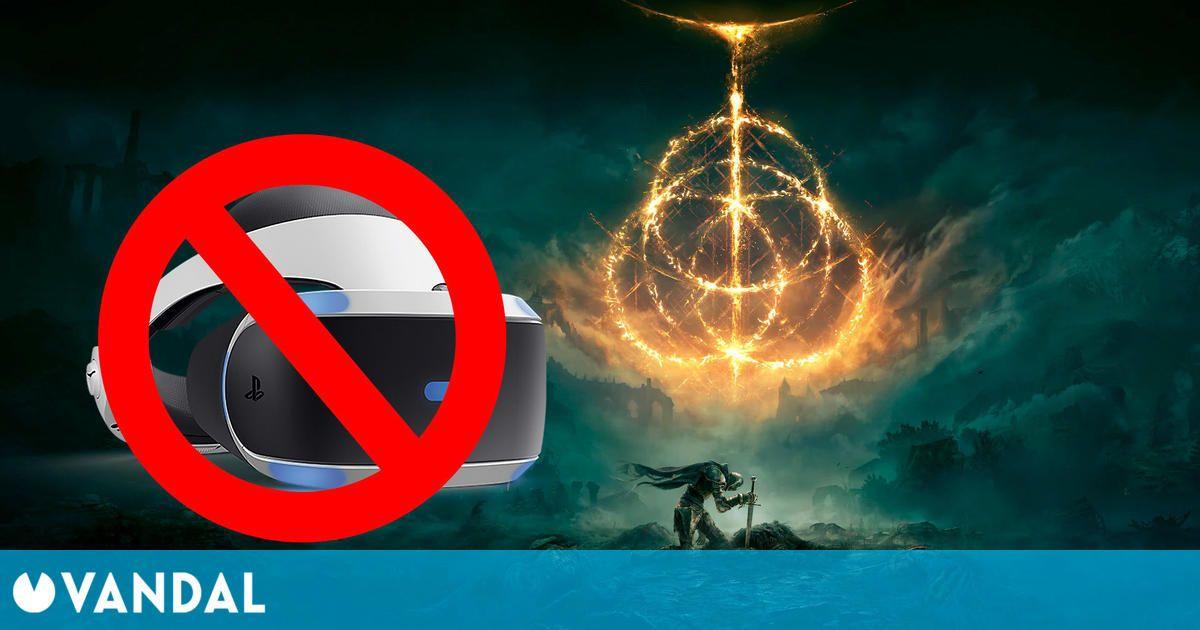 Elden Ring no es compatible con realidad virtual: su página en PS Store se actualiza