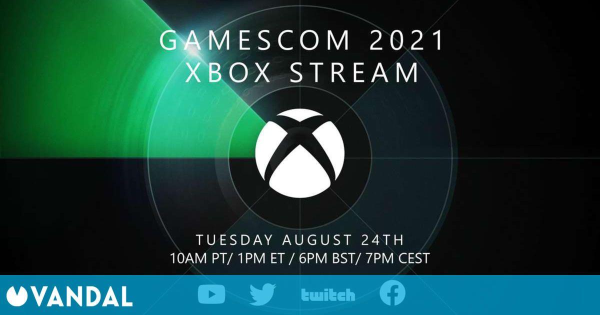 Xbox confirma su evento para Gamescom 2021 y promete un nuevo vistazo a futuros títulos