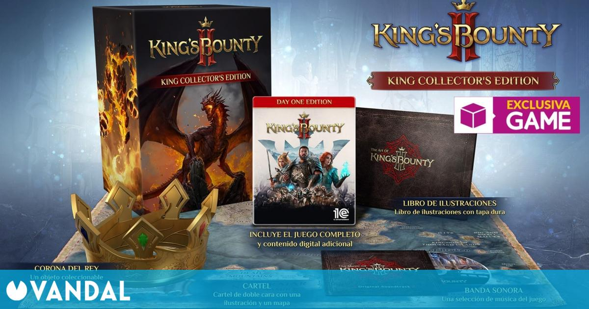 Kings Bounty II: Kings Collector's Edition ya disponible para reservar en GAME