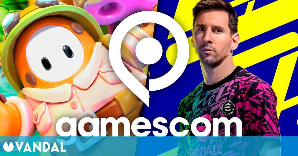 Gamescom 2021: Konami y Mediatonic, responsables de Fall Guys, se suman al evento