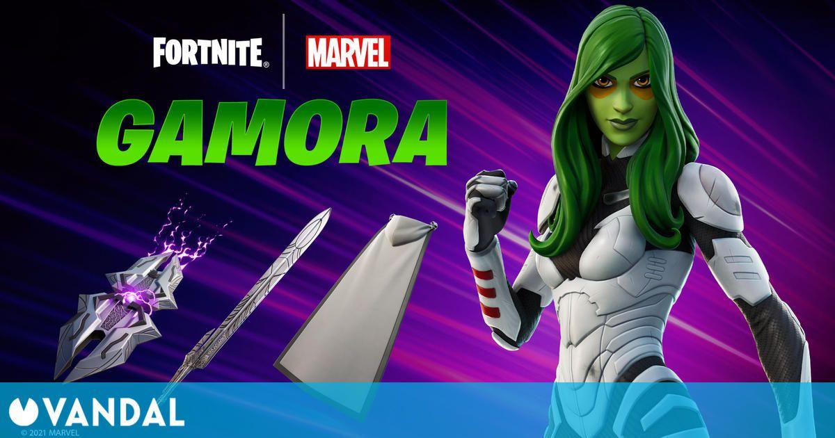 Gamora llega a Fortnite el próximo 19 de agosto