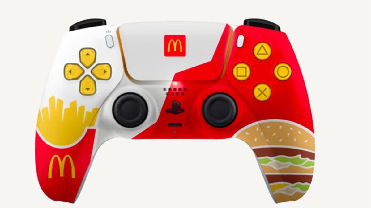 Sony prohibe a McDonalds que regale mandos de PS5 como promoción