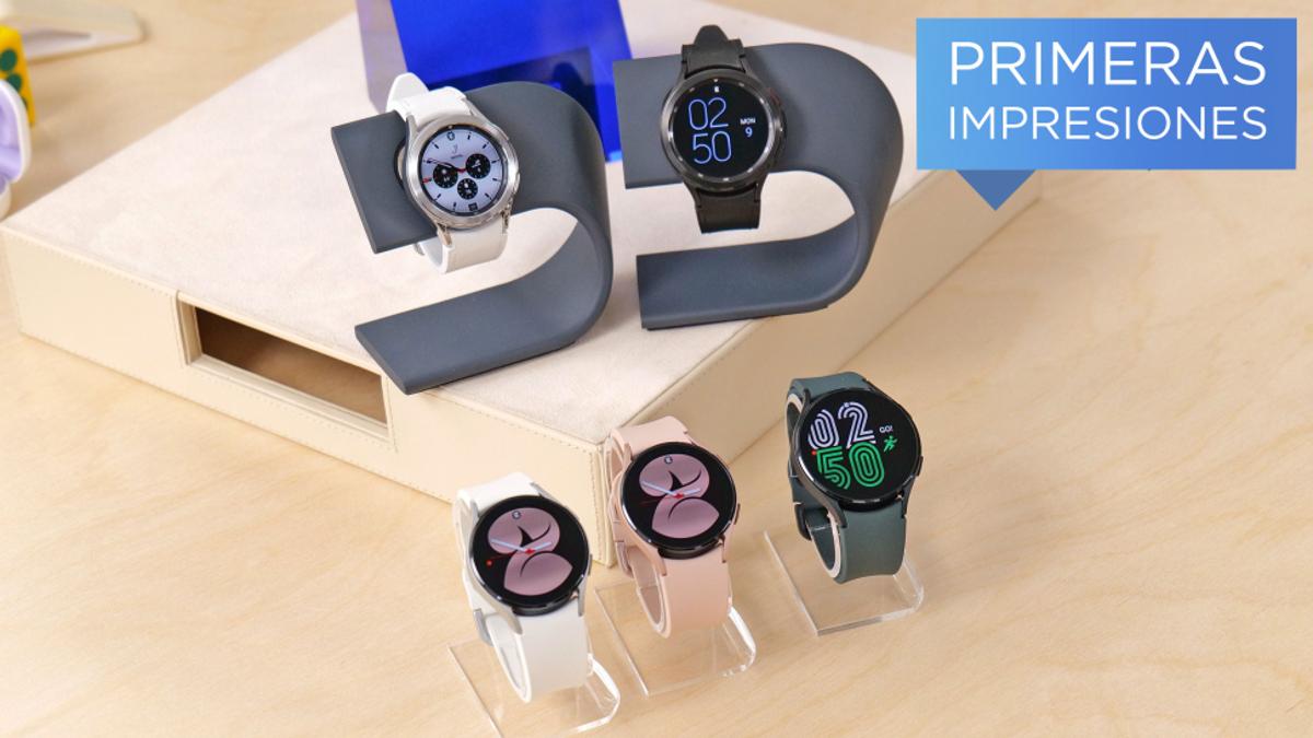 Los nuevos Galaxy Watch 4 con Wear OS marcan una nueva era Android