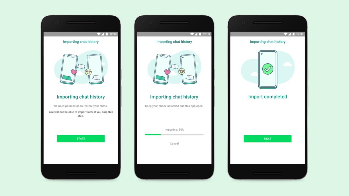 Ya puedes transferir mensajes de WhatsApp de iPhone a Android