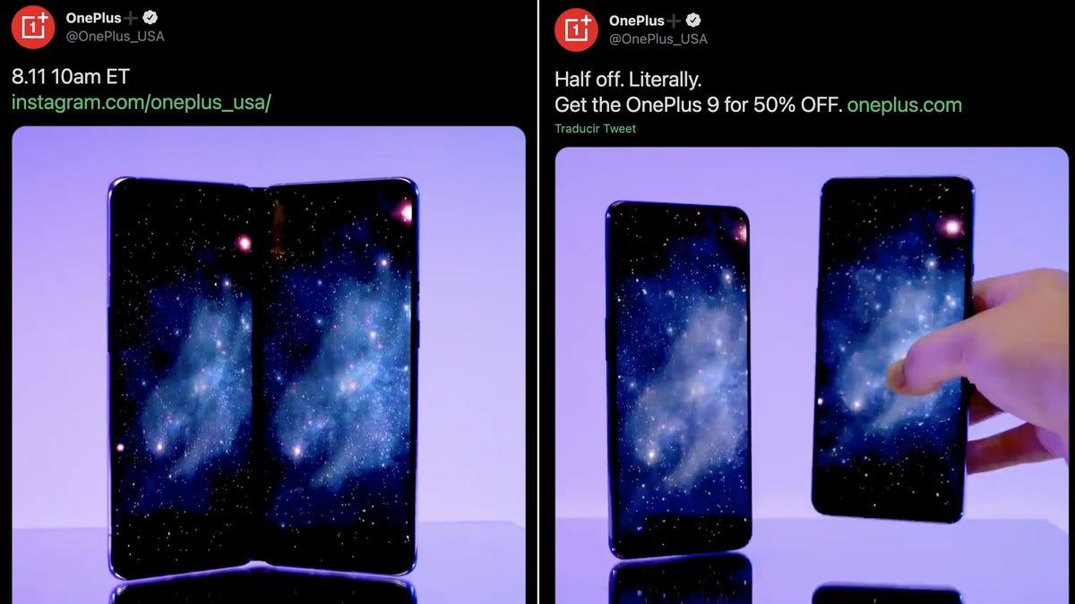 OnePlus nos hizo creer que iba a lanzar un teléfono plegable hoy, pero solo quería trolear a Samsung