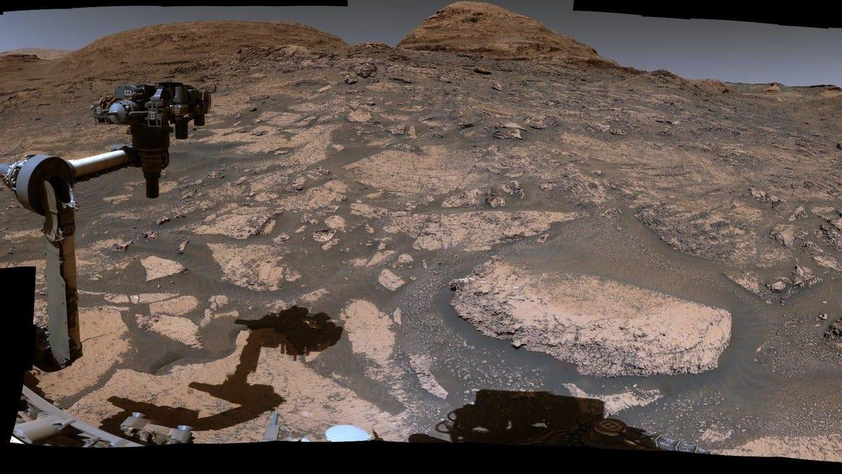 La NASA comparte un recorrido 360 de Marte con el rover Curiosity