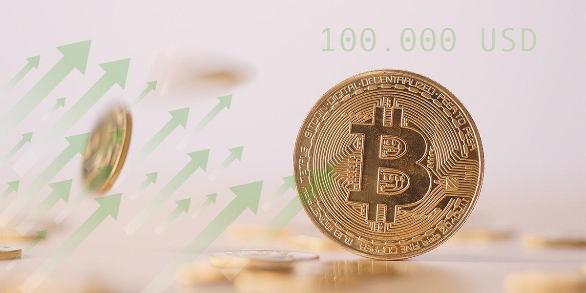¿Se hará realidad precio de bitcoin de 6 cifras a finales de 2021?