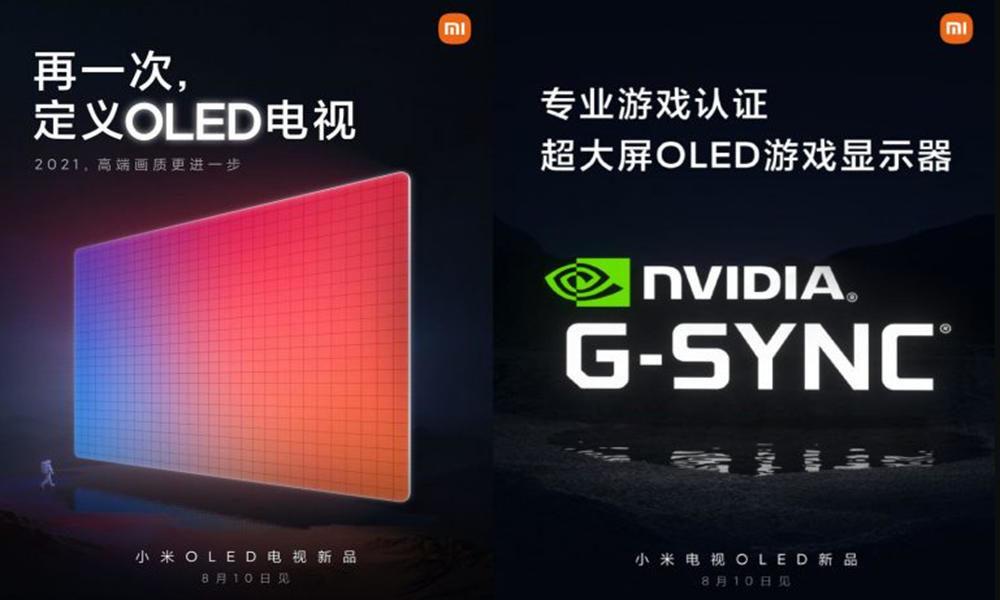 televisores Mi OLED y tablet Mi Pad 5