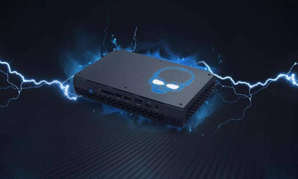 La mini PC Intel NUC 12 Enthusiast equipa las CPU Alder Lake