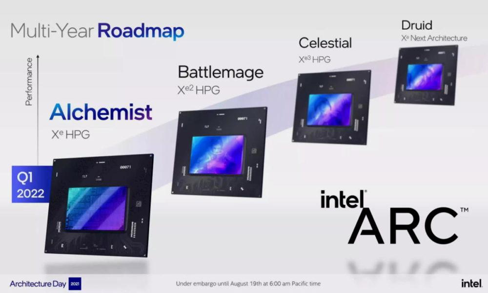 Los controladores de Intel Arc incluirán overclocking