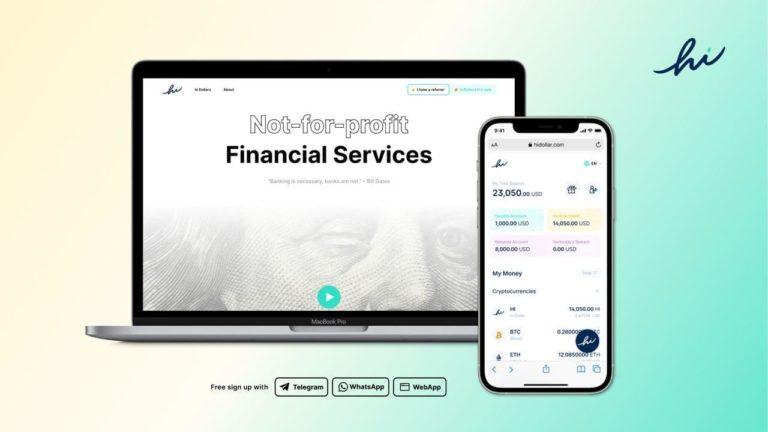 hi lanza el token hi Dollar para crear servicios para la adopción masiva