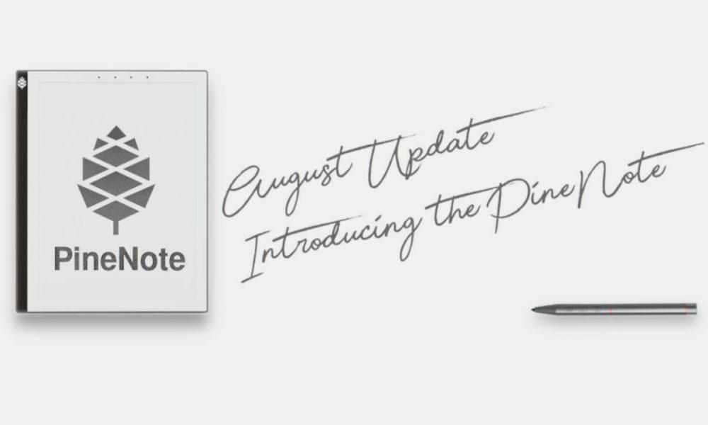 PineNote, un lector de ebook, pero también un tablet Linux