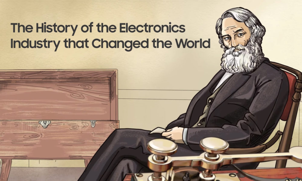 Samsung lanza una miniserie sobre la historia de la electrónica