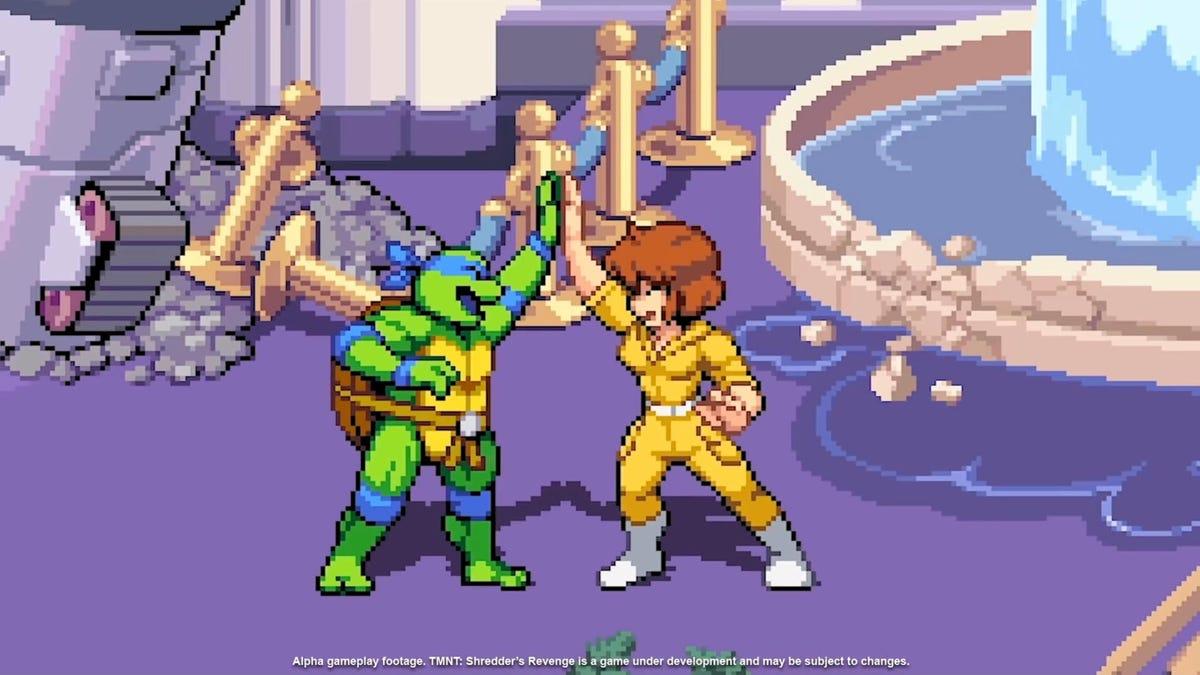 Puedes controlar a April O'Neil en el nuevo juego de las Tortugas Ninja (que cada vez pinta mejor)