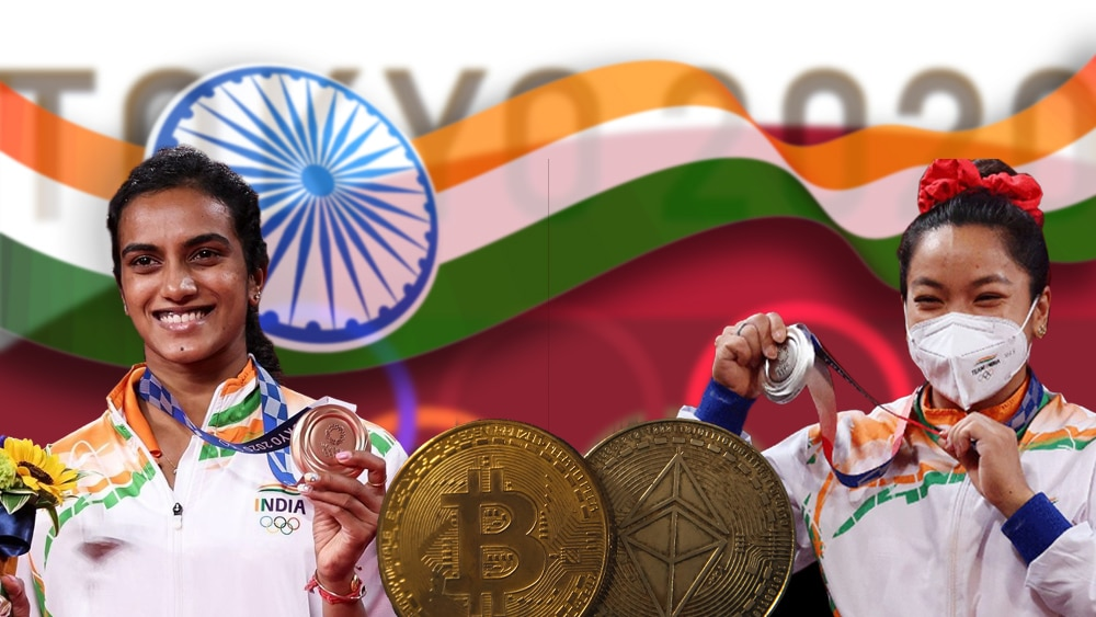 Medallistas indios en Juegos Olímpicos serán premiados con criptomonedas