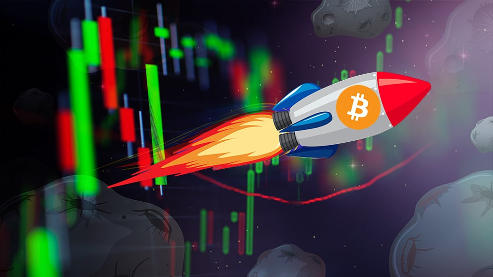 Bitcoin rompe los 46.000 dólares y otras criptomonedas le siguen el paso