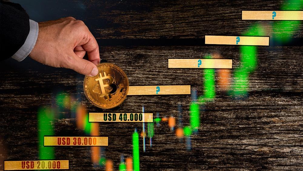 bitcoin franquea la barrera de los USD 40.000 en nuevo empuje alcista