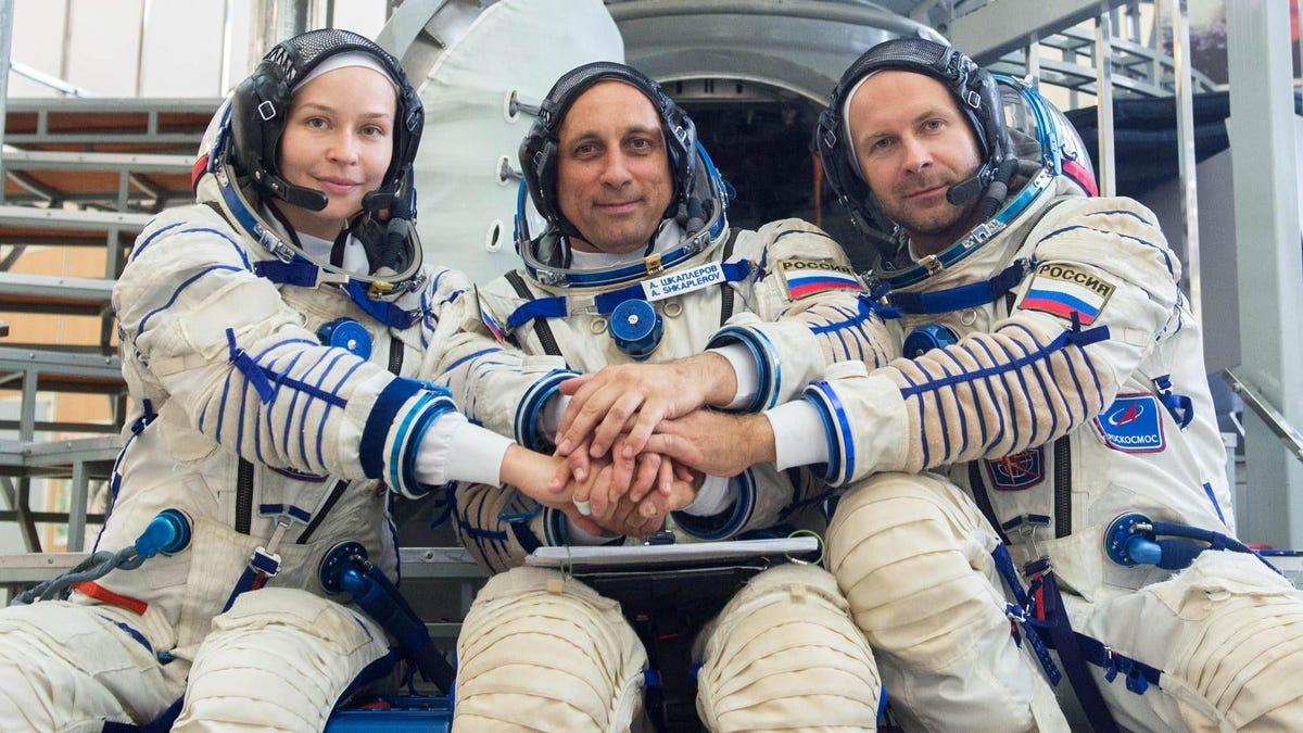 Esto es lo que sabemos sobre la película que grabarán los rusos en el espacio