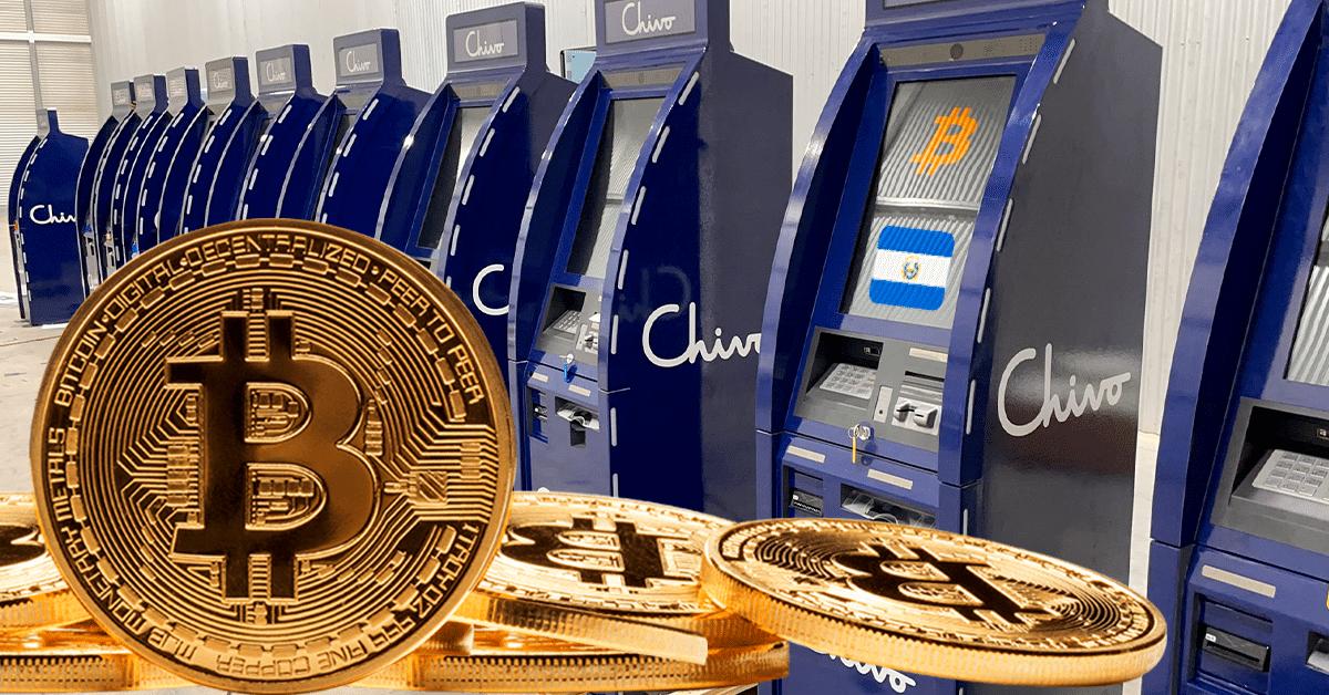 Bukele dio detalles sobre los 200 cajeros de bitcoin Chivo que habrá en El Salvador