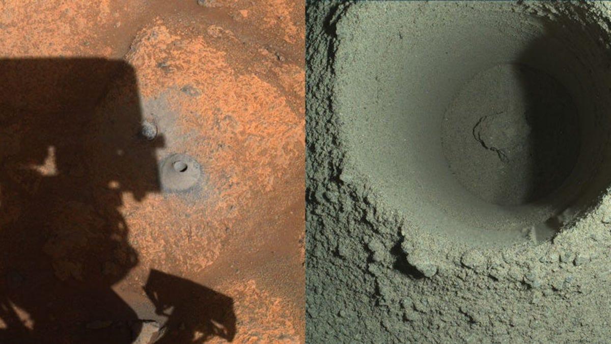 La NASA ya sabe qué pasó con las rocas marcianas del Perseverance