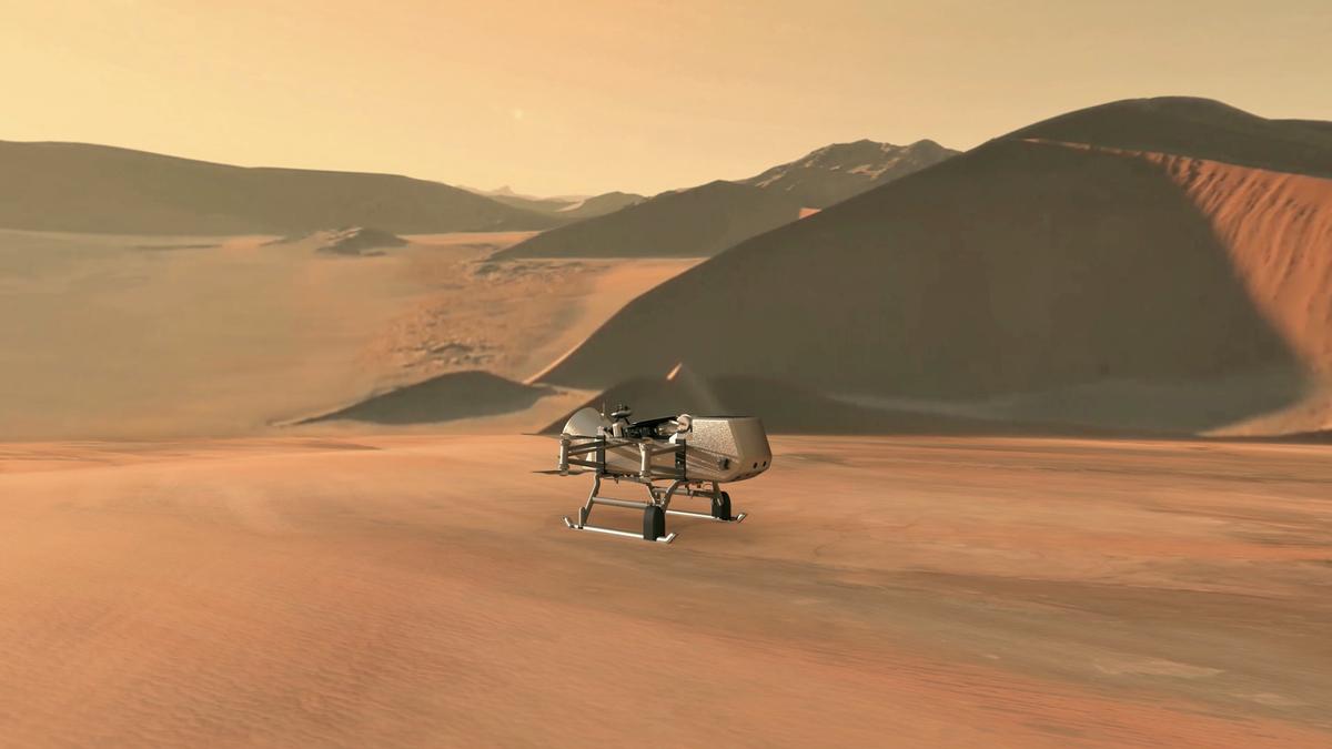 La NASA explica cómo será su misión Dragonfly a Titán