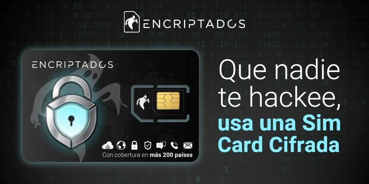 Usa una Sim Card cifrada para que nadie te hackee y págala con bitcoin