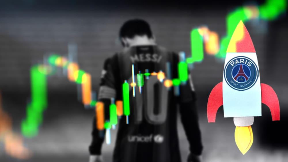 Un rumor sobre Messi dispara el precio del fan token del PSG
