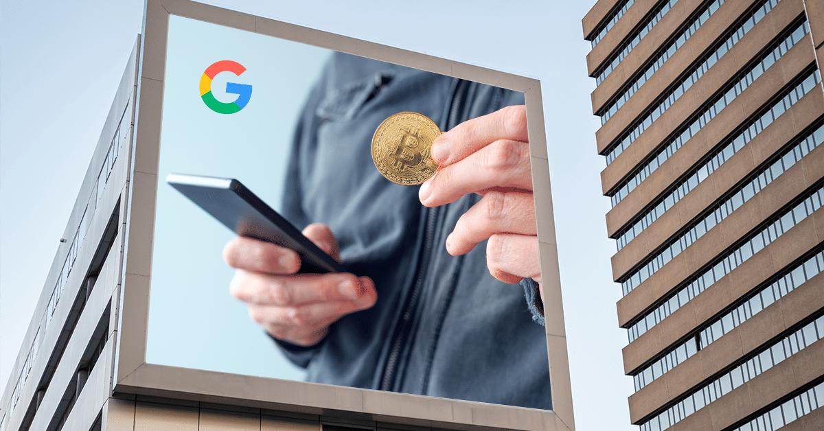 A partir de hoy vuelve la publicidad de bitcoin a Google, pero con restricciones