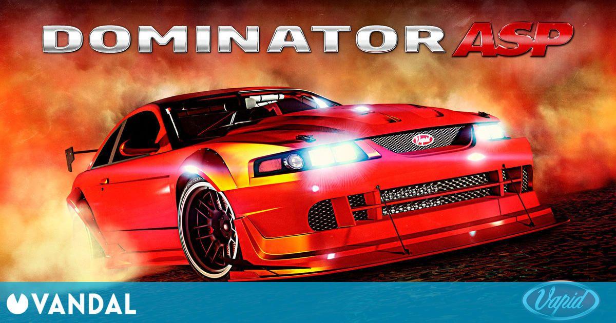 GTA Online: Recibe nuevo coche de LS Tuners Vapid Dominator ASP, recompensas dobles y más