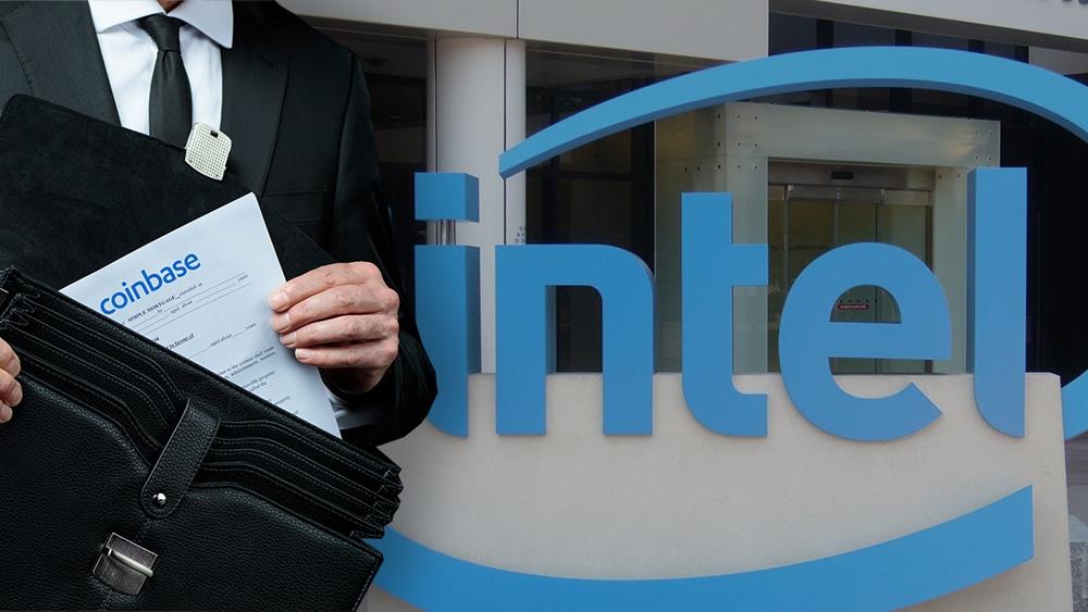Intel revela que ha invertido en acciones de Coinbase