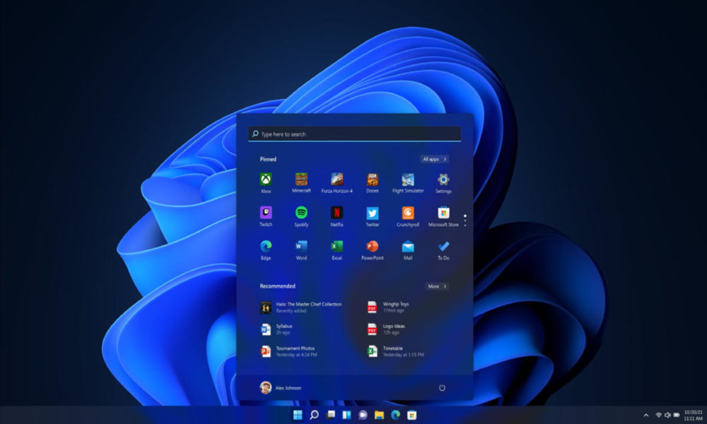 Fecha de lanzamiento de Windows 11, ¿el 20 de octubre?