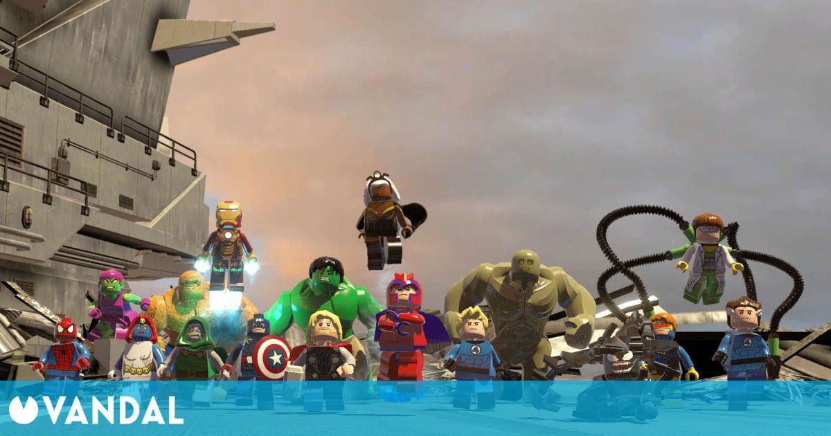 El primer LEGO Marvel Super Heroes llegará a Nintendo Switch el 8 de octubre