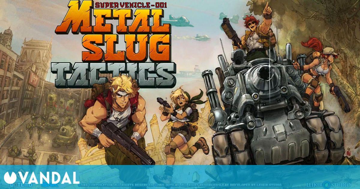 Metal Slug Tactics confirmado para Nintendo Switch; se lanza en 2022