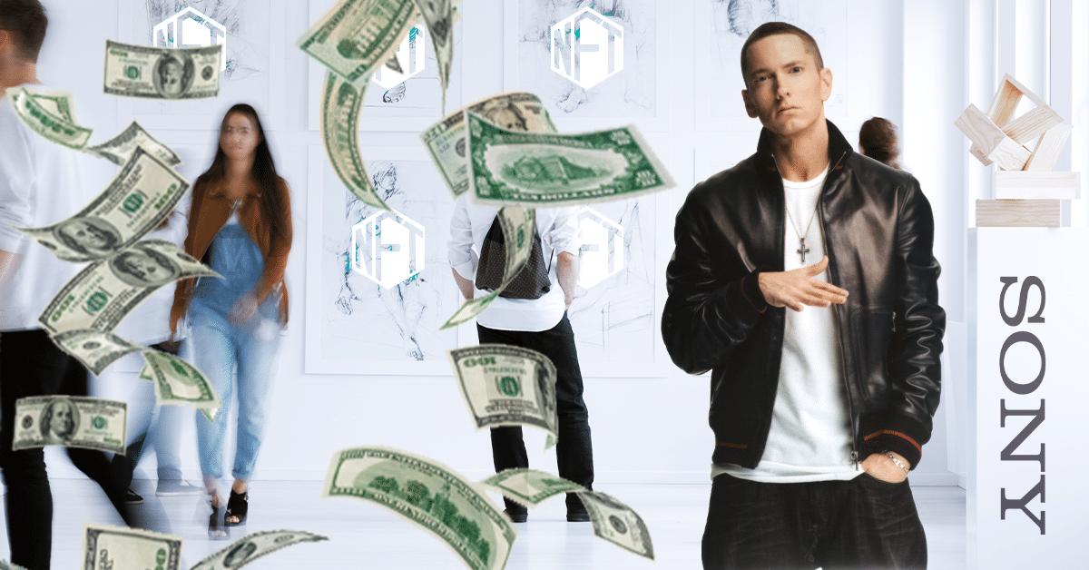 Sony Music y Eminem invierten en plataforma para NFT basada en Ethereum