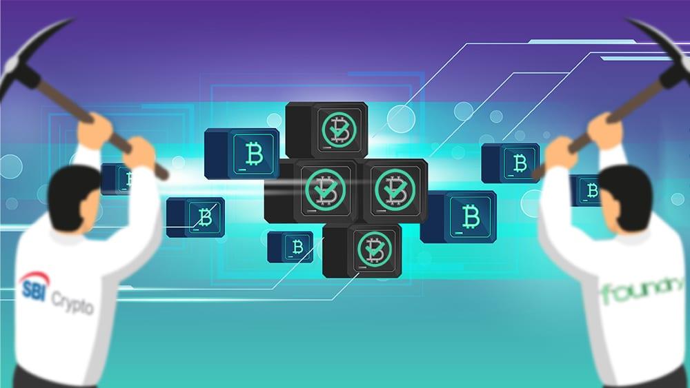 pool de minería de Bitcoin minó 4 bloques seguidos