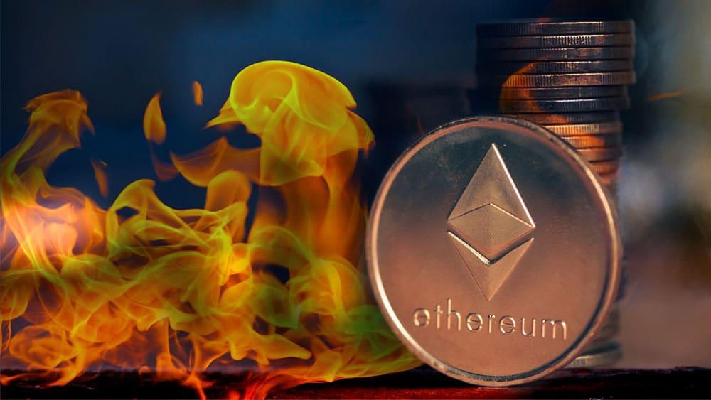 algunos bloques de Ethereum ya son deflacionarios