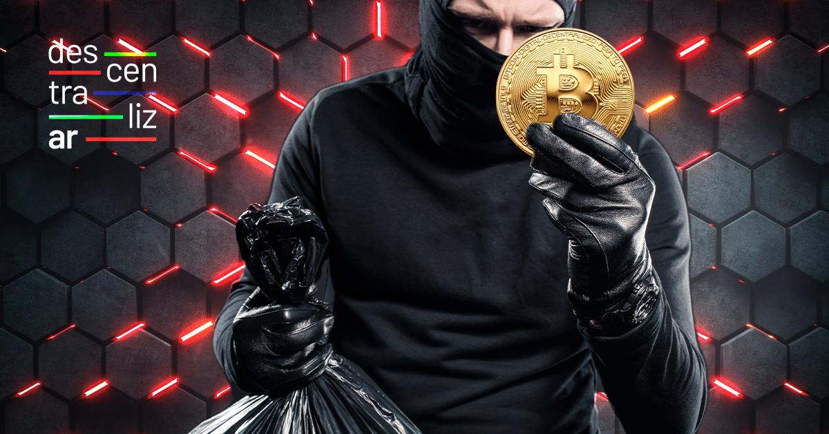 ¡Que no te roben tus BTC! Cómo prevenir estafas con bitcoin en DescentralizAR 2021