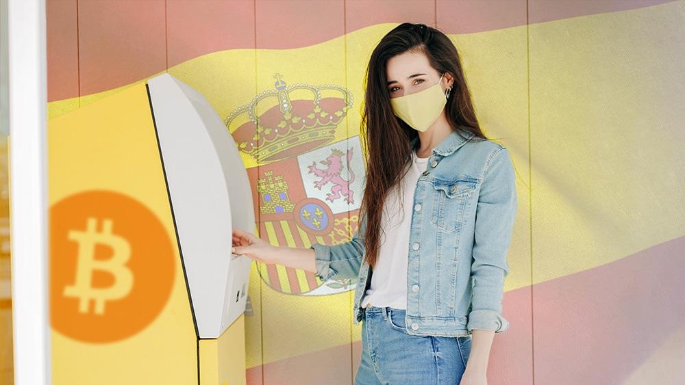 Madrid cuenta con 3 nuevos cajeros de bitcoin